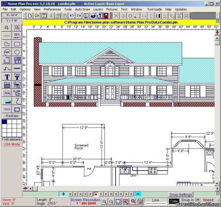 программа для разработки дизайна и планировки дома